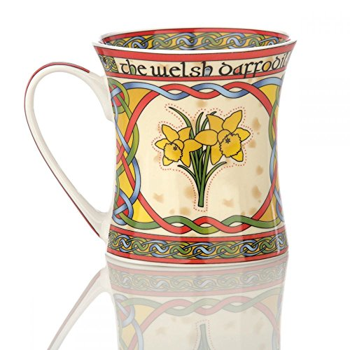 Eburya The Welsh Daffodil Mug - Kaffeebecher aus Keramik mit walisischer Narzisse