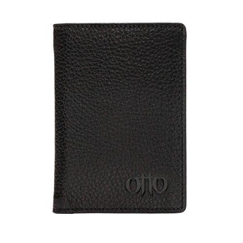 Portafoglio in pelle OTTO - stile passaporto, porta...