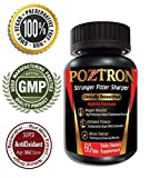 Poztron: Powerful Testosterone Booster Tablets for Men. Multivitamin Supplement for Peak Energy, Vitality