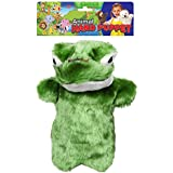 WonderKart Awals Soft And Plush Animal Hand Puppet - Frog (Color May Vary)