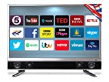 Cello P32ANSMT 32-Inch Platinum Android Smart Freeview T2 HD LED TV and Built in Soundbar - Black