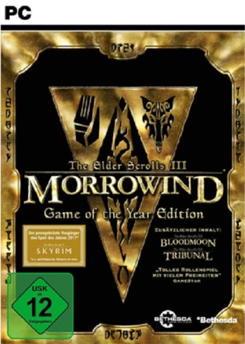 The Elder Scrolls 3 Morrowind Game of the Year