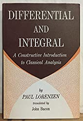 Differential and Integral by Paul Lorenzen (1972-05-25)