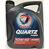 Total TO7D10405 Quartz 7000 D. 10W40 A3/B4 5L, 5 L