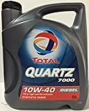 Total Quartz 7000 Diesel 10W-40 Engine Oil, 5 Litre