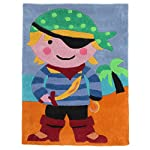 Kiddy Rug Childrens/Kids Pirate Rug