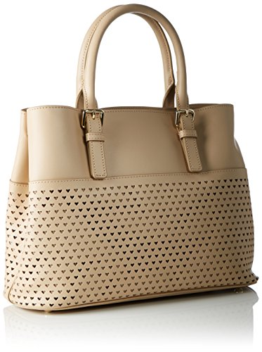 Tommy Hilfiger Summer Of Love Small Tote Perf, Cabas Beige (Cuban Sand)