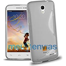 Funda para ORANGE ROYA GEL TPU Diseño S-Line Color TRANSPARENTE