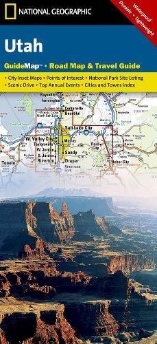 Utah: State Guide Maps: NG.GM44.00620395 (National Geographic Guide Map) por National Geographic Maps