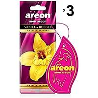 Areon Mon Autoduft Vanille Bubble Gum Pink Rosa Auto Duft Lufterfrischer  Kaugummi Set X 3 Hängend Zum Aufhängen Anhänger Geruch Parfüm Erfrischer ...
