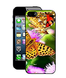 Crazymonk Premium Digital Printed Back Cover For Apple I Phone 4