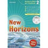 New horizons. Student's book-Workbook-Homework book. Con espansione online. Per le Scuole superiori. Con CD Audio. Con CD-ROM: 2