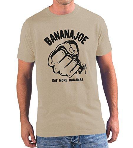 Original Banana Joe Premium T-Shirt No.3 viele Farben bis 5XL Sand