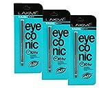 #5: Lakme Eyeconic Kajal (pack of 3) Deep Black, 0.35 g