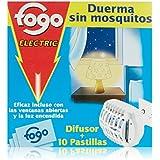 Fogo Aparato Eléctrico Antimosquitos - 10 Pastillas