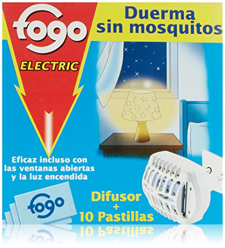 Fogo Insecticida Insectos Voladores Aparato Eléctrico + 10 pastillas