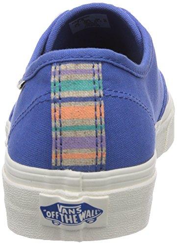 Vans W Camden Damen Sneakers Blau (natural Stripe Fik)