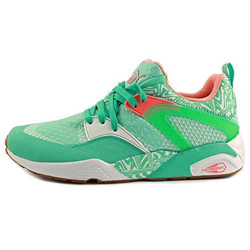 Puma Blaze Of Glory Woven Synthétique Baskets Holiday- White- Desert Flower