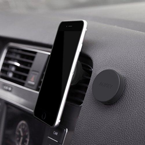 51GZjlCtz7L - [amazon] AUKEY iPhone KFZ Halterungsmagnet für nur 6,99€ statt 9,99€ *PRIME*