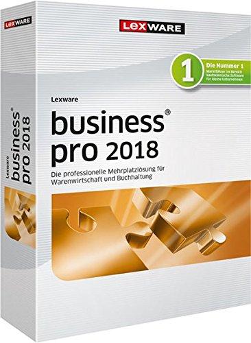 Lexware business pro 2018 Minibox (Jahreslizenz)|für die Verwaltung mehrerer Firmen dank 3 Arbeitsplätzen|Software für Buchhaltung und Auftragsbearbeitung|Kompatibel mit Windows 7 oder aktueller