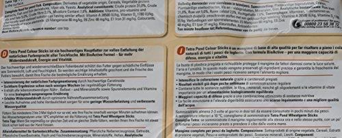 Tetra Pond Colour Sticks (Hauptfutter zur Entfaltung der natürlichen Farbenpracht aller Teichfische), 4 Liter Beutel - 3