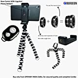 #5: Burgeon Gorilla Tripod / Flexible Mini Tripod 10 inch For Phone/DSLR Camera With Mobile Attachment ,Universal Mobile Lens Kit & Bluetooth Remote