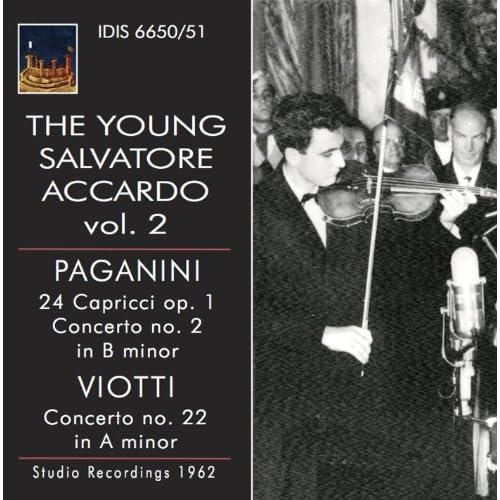 24 Caprices for Solo Violin, Op. 1, MS 25: No. 4 in C Minor: Maestoso