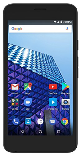 ARCHOS Access 55 3G 8GB - SIM-Lock frei (qHD Display, 5,5\'\' - 2/8MP - Dual-SIM - Android 7.0 Nougat)