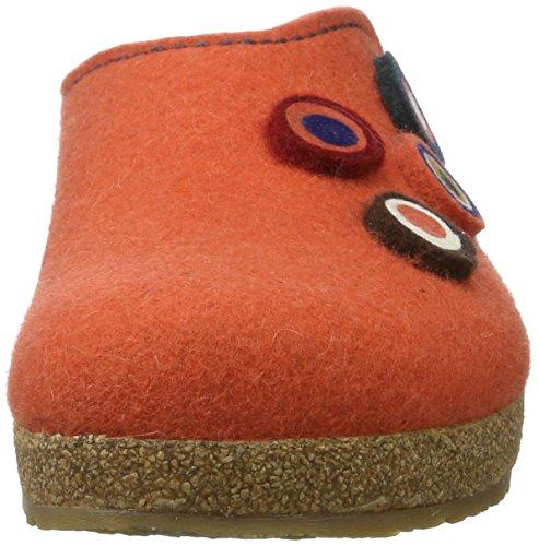 Haflinger Grizzly Kanon, Scarpe da ginnastica Unisex - Adulto Orange (zimt)