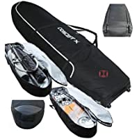 CONCEPT X Doble Funda tabla 7.3 TUBO PRO XX Freestyle Wave 230 cm Sessionbag