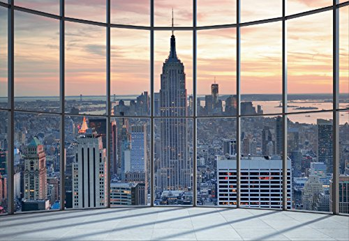 1wall-non-woven-empire-state-building-window-view-paste-the-wall-mural-wood-black-and-white-36-x-253