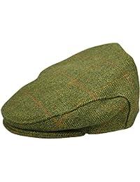 Hunter Outdoor Tweed Olive Flat Cap