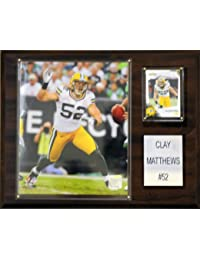Topps NFL Clay Matthews Green Bay Packers Player Plaque