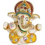 [Sponsored]Mivaan Traders Decorative Gift Ganesh Idol Lord Ganesha Ganesh Ganpati Car Dashboard Hindu Figurine Show Peace Murti Idol Statue For Office Or Home (8 Cm X 4 Cm X 4 Cm, MHMS113)