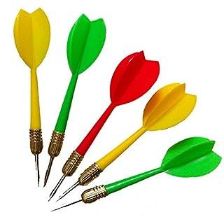 Amasawa Dartpfeile Darts Kupfer Nadel Metall Darts Nadel Dart Set kann einen Ballon binden