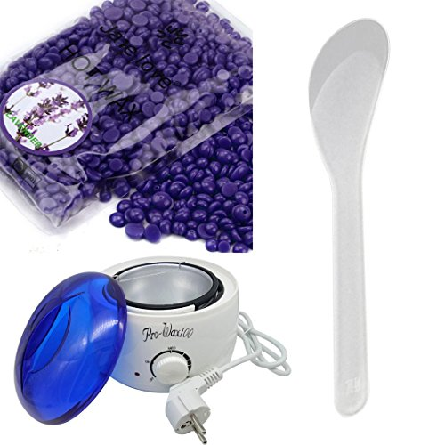 VENMO Calentador De Cera Depilador De Cera + Cera depilatoria en perlas (E)