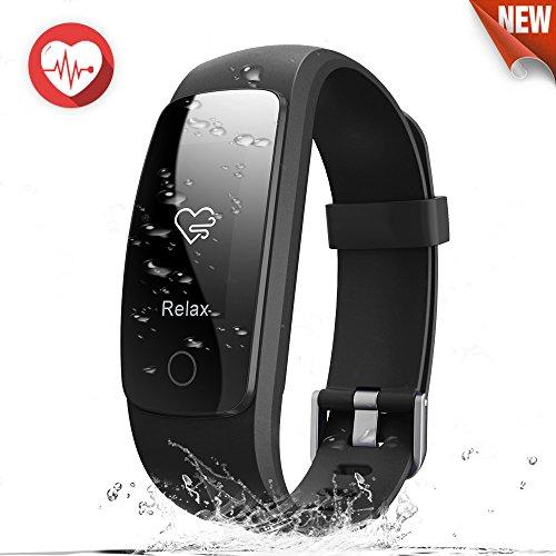 Pulsera Actividad MiuVei Pulsera Inteligente con GPS para Correr, Nivel de Salud Cardiorrespiratoria, Guía de Respiración, Monitor de Ritmo Cardíaco y Sueño, Impermeable 67, Control de Musica y Cámara, Notificación de Mensaje, Bluetooth 4.0 para iOS y Android