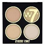 W7 It's Strobe Time Blush Shimmering Powder Kit-It's Glow TIme