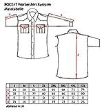ROCK-IT Apparel® Camisa de Hombre de Manga Corta Camisa de los Estados...