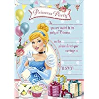 Disney (Princess Party) Princess Invitations Party Invitations (Pack of 20)