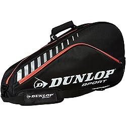 Dunlop Club - Raquetero de 3 raquetas