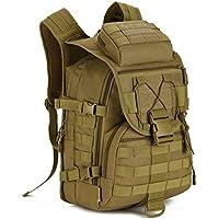 Huntvp Tactical Military Backpack 40L Large Molle Rucksack Waterproof Assault Pack Bag Hiking Camping Trekking