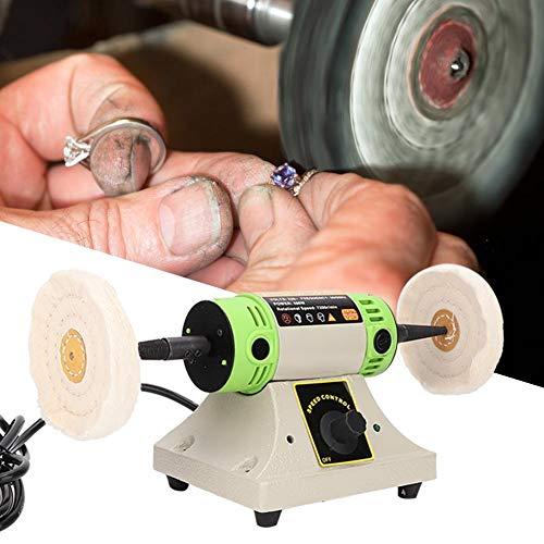 Schmuck Poliermaschine, Doppel Schreibtisch Poliermaschine für Bürobank, Hauptbank
