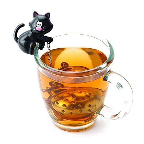 Joie Katze und Fisch Tee-Ei