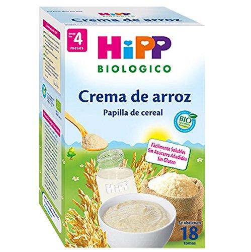Papilla ecológica de arroz y vitamina B1 HIPP (400 gr)