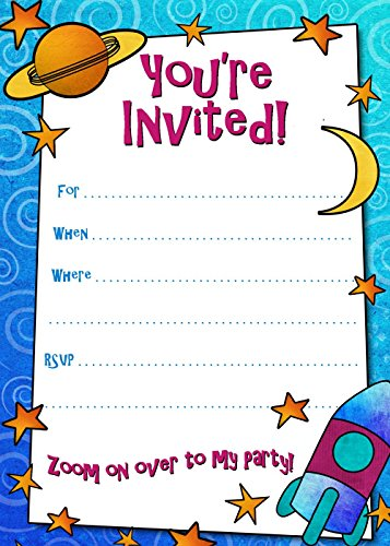 Birthday Invitation Card on Metallic Sheet (Pack of 50 Cards) BPC-012