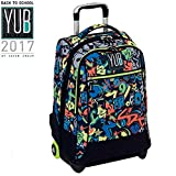 TROLLEY ZAINO GRAFFITI YUB SEVEN BOY BLU 2017