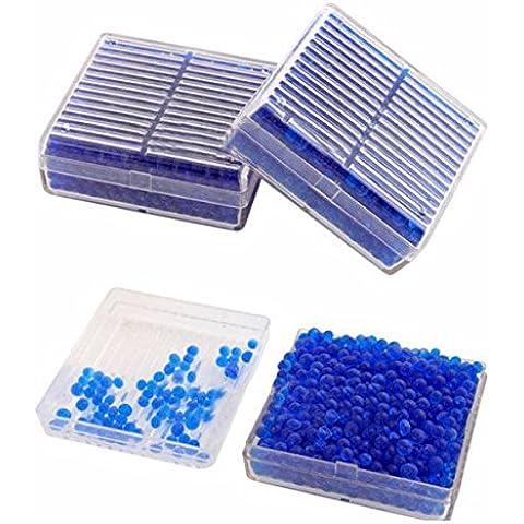 Pink Lizard 2pcs gel di silice essiccante umidità umidità scatola assorbire?microscopi asciugatrice macchina fotografica telescopi riutilizzabile