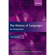 [The History of Languages: An Introduction] (By: Tore Janson) [published: December, 2011]
