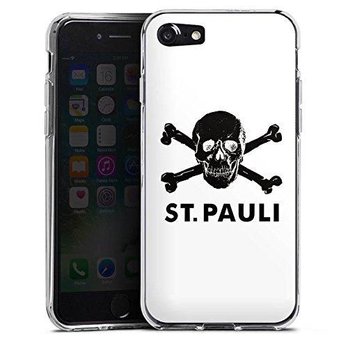 Apple iPhone 6s Silikon Hülle Case Schutzhülle FC St. Pauli Fanartikel Fußball Silikon Case transparent